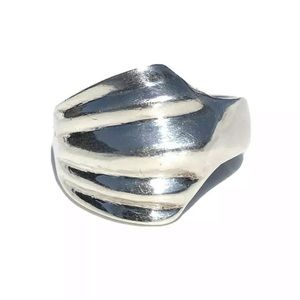 Jewelry - Sterling Silver Ring Shell Size 5.5 Pinky 925